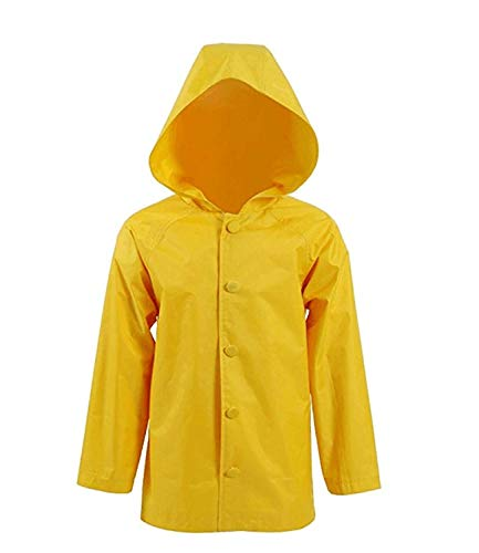 Expeke Deluxe Handmade Yellow Raincoat Costume Men/Women/Children Cosplay Costume (8, Children)