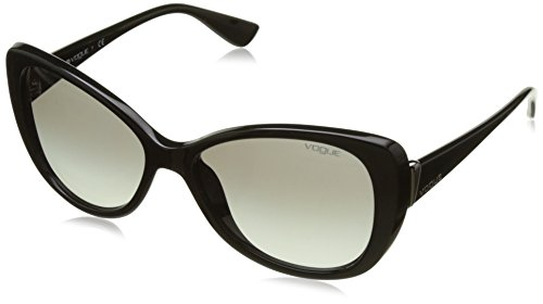 Gradient Unisex Gafas de Negro Gray Adulto Vogue Sol Black q8zwtdO