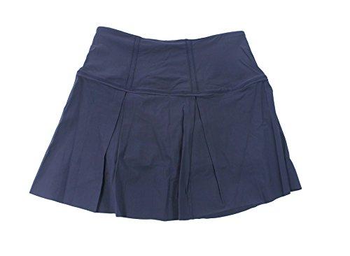 Lululemon Midnight Navy Lost In Pace Skirt Tall, 10, Midnight Navy