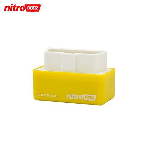 (Star-Trade-Inc - Nitroobd2 Chip Tuning Box Nitro OBD2 For benzine Car Chip Tuning Box Plug and Drive Nitro OBD2 More Power/More Torque)