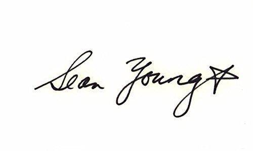- Sean Young Signed - Autographed 3x5 inch Index Card - Blade Runner, Dune, Wall Street, Ace Ventura: Pet Detective