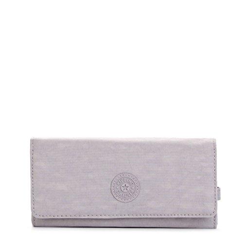 New Teddi Solid Snap Wallet Wallet, PAPAYAORNG, One Size - Kipling New Travel Wallet