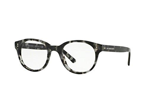 Burberry Men's Optical Frame Acetate Havana Grey Frame/Transparent Lens Non-Polarized Glasses 50 0