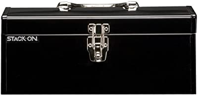 Stack-On SHB-16 16-Inch Multi-Purpose Steel Tool Box, Black from Stack-On