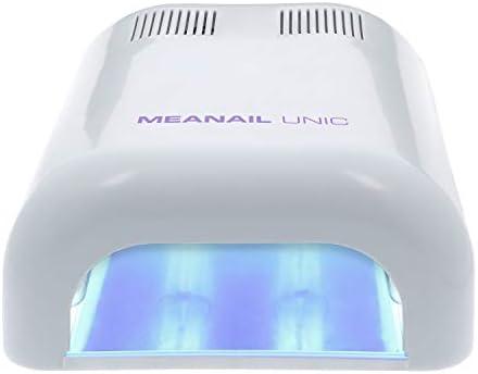 Plastimea Meanail 36 Watt UV Naillampe für Gelnägel,Professionelles Lichthärtungsgerät, Gelnagellack - Shellac - 4 x 9W Birnen