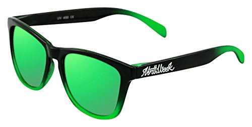 NORTHWEEK Gradiant Gafas de Sol, Verde, 52 Unisex: Amazon.es ...