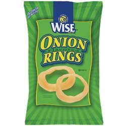 Wise Onion Rings, 5.0-Oz Bags (Pack of 14)