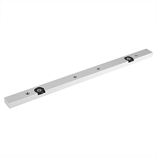 - Aluminium Alloy Miter Bar Rail Miter Guage Bar Slider Table Saw Gauge Rod Wood Working Tool(300mm / 11.81inch)