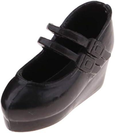[해외]SM SunniMix 블랙 스타일리시한 싱글 슈즈 Blythe Azone Takara for 16 볼 조인트 인형 플라스틱 장난감 / SM SunniMix Black Stylish Single Shoes for Blythe Azone Takara for 16 Ball Jointed Dolls Plastic Toy