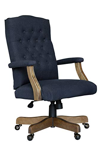 Boss Office Products B905DW-NV Executive Commercial Chair Navy