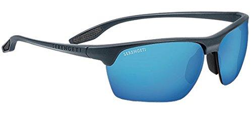 Serengeti Linosa Sunglasses, Sanded Dark Gray