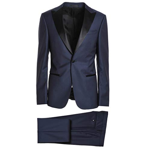 Z Zegna Men's 322841282Kgq Blue Wool Suit for sale  Delivered anywhere in USA
