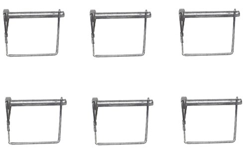 Great Features Of Buyers Wire Lock Pin 1/4 X 3-1/4 Square 66066 (6)