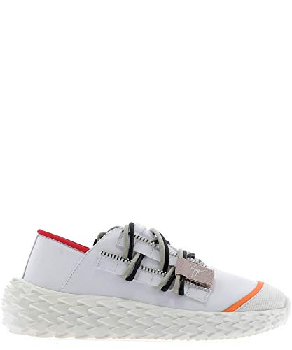 Cuir Zanotti Giuseppe Design Rs90028001 Blanc Baskets Femme qXPTwdyP