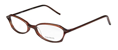 Vera Wang V38 Womens/Ladies Designer Full-rim Eyeglasses/Glasses (49-17-135, Burgundy)