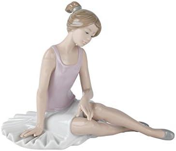 NAO Dancer Rested. Porcelain Ballerina Figure.