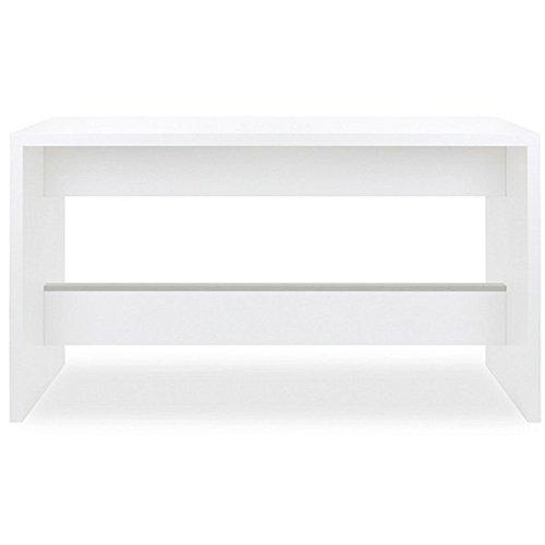 SMV LIGHT@STAND Stehtisch, verschiedene Größen - 1600 x 800 x 900 mm   Unidekor weiß