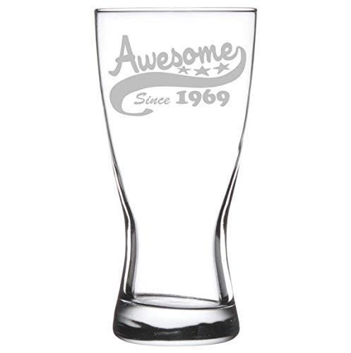 15 oz cerveza Pilsner vidrio - 50th cumpleaños impresionante ...