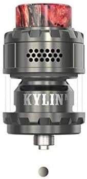 Vandy Vape Kylin M RTA 3 ml y 4,5 ml Malla de bobina Rebuildable Top Honeycomb Airflow 24mm Vaporizador 100% original (GunMetal): Amazon.es: Salud y cuidado personal