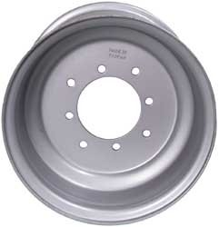 ITP Steel Wheel 10x5 3+2 4/110 Silver for Honda Yamaha