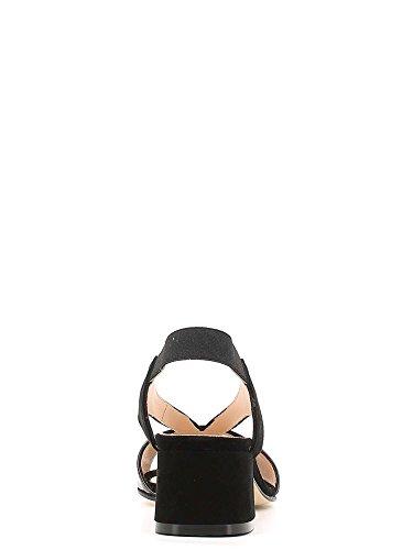 Femmes GRACE à Noir SHOES Hauts 527 Sandales Talons 77fYSqw