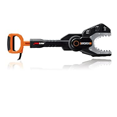 WORX 5 Amp Electric JawSaw with Steel Gripping Teeth, Chain Auto-Tension, and Auto-Oiler – WG307