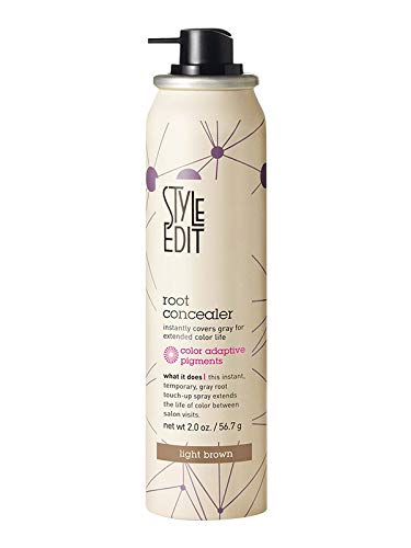 Style Edit Root Concealer, Light Brown, 2 oz.