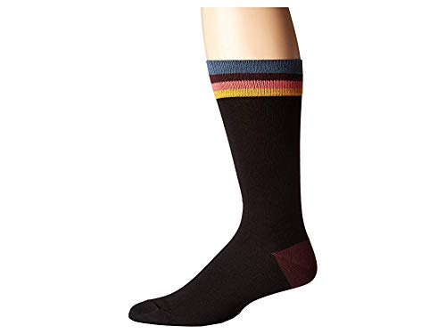 (Paul Smith Men's Artist Top Socks Black One)