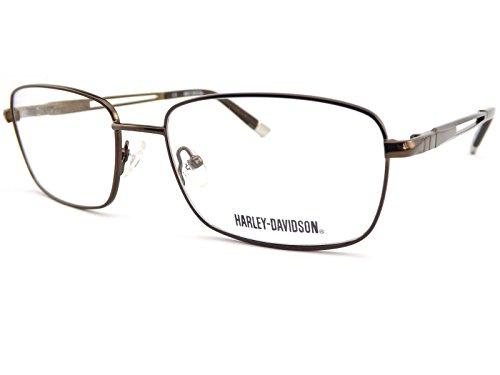 Harley Davidson - Montures de lunettes - Homme marron Shiny Brown Tortoise Taille Unique
