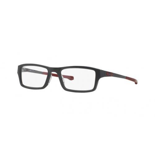 Oakley Chamfer OX8039-0349 Satin Pavement Rectangle Eyeglasses 49mm
