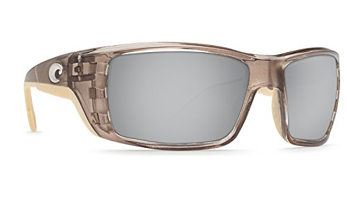 Costa Del Mar Permit Sunglasses, Crystal Bronze, Silver Mirror 580 Plastic - 580 Permit Del Costa Mar