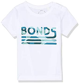 Bonds Baby Aussie Cotton Printed Tee, Bonds Jungle Logo, 0 (6-12 Months)