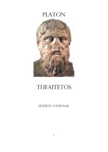 THEAITETOS PLATON EPUB DOWNLOAD