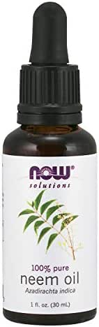 Now Solutions, Neem Oil, 100% Pure, Made from Azadirachta Indica (Neem) Seed Oil, Natural Relief from Irritation and Other Skin Issues, 1-Ounce