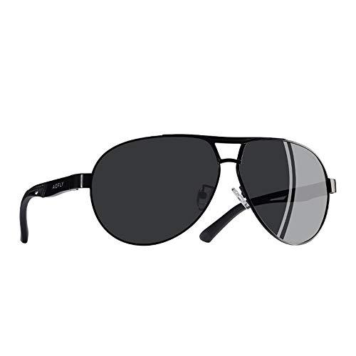 FKSW Gafas Hombres Los Sol De De De Magnesio De Sol De De Piloto Gafas D Piloto Gafas Aluminio Clásico Polarizadas Sol Gafas Verano De Gafas De Protección rtq08rW