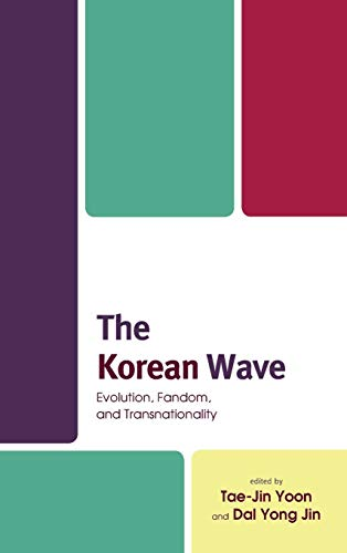 Book cover from The Korean Wave: Evolution, Fandom, and Transnationality by Min Jin Lee