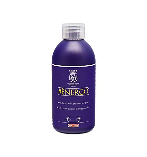 Energo 250 ML Acid rain and Hard Water Stain Remover - Removes Tough Water Stains from a Variety of Surfaces Mafra