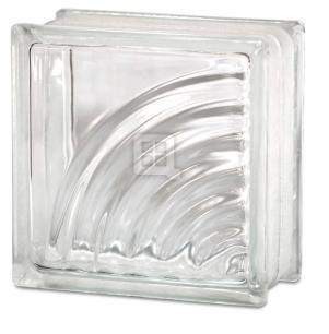 Quality Glass Block 8 x 8 x 4 Spyra Glass Block