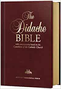 """an analysis of the didache in the bible """"go and learn the meaning of the words, 'i desire mercy, not sacrifice' i did not   """"for the power and the glory are yours forever"""" (didache 82) """"to the only god,."""