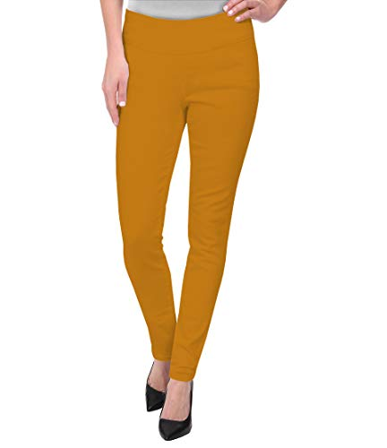 (Super Comfy Stretch Pull On Millenium Pants KP44972 Mustard)