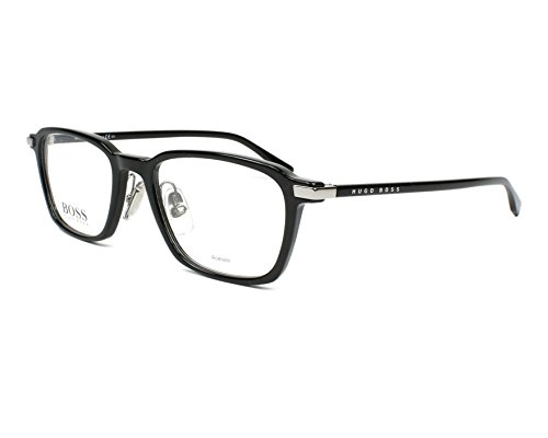 060eb82f032 Hugo Boss Men s Eyeglasses 0910 807 Black Full Rim Optical Frame 50mm