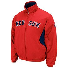Boston Red Sox Big & Tall Authentic Collection Navy Therma Base Triple Peak Premier Jacket (Navy Blue Boston Red Sox Jacket)