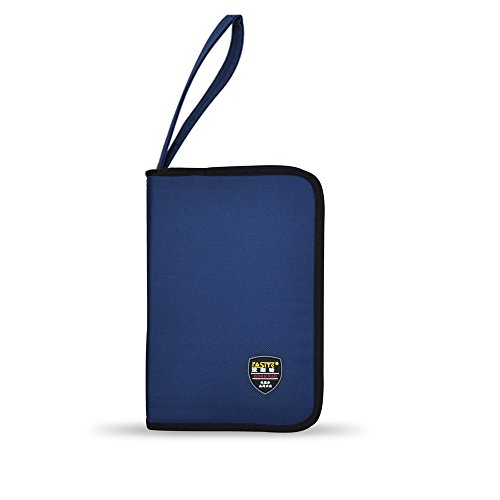 FASITE PT-N027-2 Portable Tool Zippered Hard Board Case Bag Pouch(Small),, Blue (Pliers Case Screwdrivers)