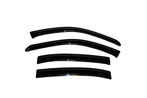 Auto Ventshade 94403 Original Ventvisor Side Window Deflector Dark Smoke, 4-Piece Set for 1997-1999 Oldsmobile Cutlass Sedan, 2004 Chevrolet Malibu Classic (Malibu Chevrolet Body Auto)