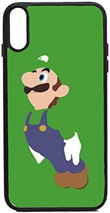 CUSTODIA porta cellulare Luigi Super Mario Bros per iPhone XR ...