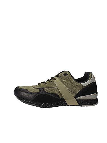 green Napapijri Musk Mehrfarbig Uomo Rabari Sneaker N751 qx1wO4F6