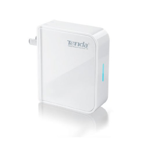 Tenda 150 Mpbs Portable 802.11n Wi-Fi Travel Wireless Router/Extender (A5)