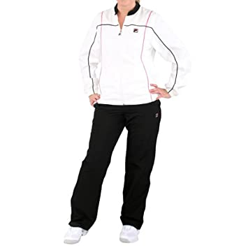 Fila Warm Up Trainingsanzug Damen: : Sport & Freizeit
