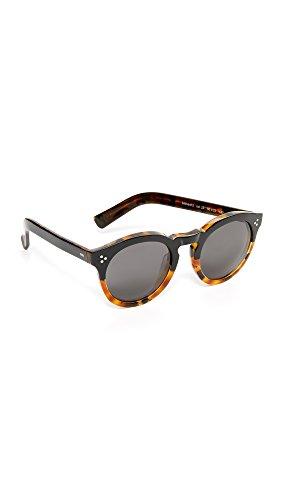 Illesteva Women's Leonard II Sunglasses, Half Tortoise/Grey, One - Sunglasses Tortoise Illesteva