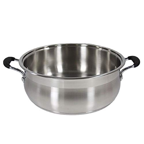 Thaweesuk 10 Qt Stainless Super Capsulated Stock Dutch of
